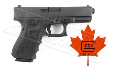 Glock 19 Gen4 9mm Pistol Canadian 106mm Variant with Glock Factory Barrel?>