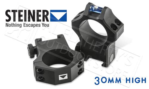 Steiner T-Series Scope Rings - 30mm High with Integrated Level #5962?>