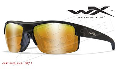 Wiley X Compass Safety Sunglasses with Captivate Polarized Bronze Mirror Lenses #CCCMP06?>