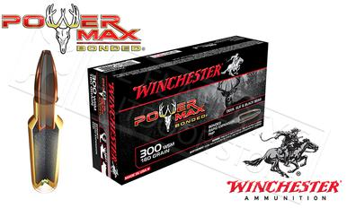 Winchester 300 WSM Power Max, Bonded HP 180 Grain Box of 20 #X300WSMBP?>