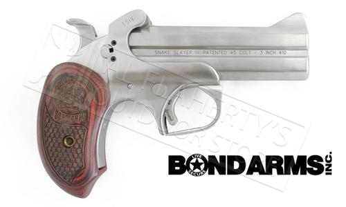 Bond Arms Snakeslayer IV .45LC/.410 Stainless Derringer #00156?>