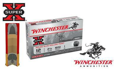 Winchester Super X Rifled Slugs  20 Gauge Box of 5 #X20RSM5?>