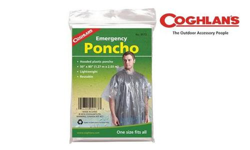 Coghlan's Emergency Poncho, One Size Fits All #9173?>