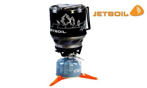 JetBoil MiniMo Cooking System - Carbon with Line Art #MNMO-CLA?>