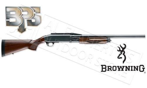 "Browning SG BPS Rifled Shotgun - 12 or 20 Gauge 22"" Barrel with Cantilever, Wood Stock?>"