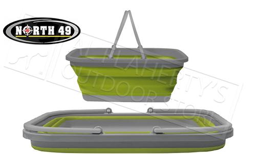 "North 49 Collapsible Basin 18""x13.5""x7.5"" 15L #2278?>"