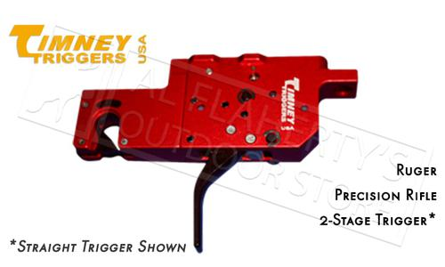 Timney Triggers Ruger Precision Rifle 2-Stage Trigger, Curved Adjustable #650?>