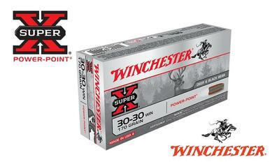 Winchester 30-30 WIN Super X, Power Point 170 Grain Box of 20 #X30303?>