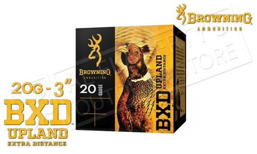 "Browning Ammo BXD Extra Distance Upland Shells 20 Gauge 3"" 1-1/4 oz Box of 25 #B19351203?>"