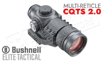 Bushnell Elite Tactical CQTS 2.0 Red Dot Sight - Multi-Reticle with AR Mount #ET71X32?>