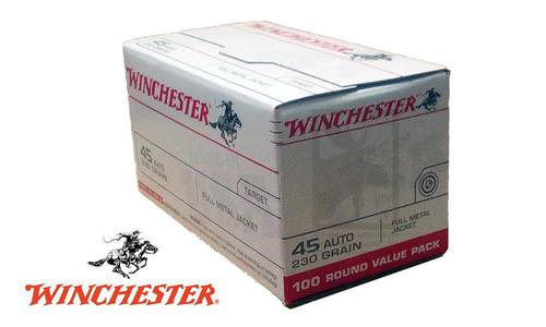 Winchester .45ACP Value Pack, 230 Grain, Box of 100 #USA45AVP?>