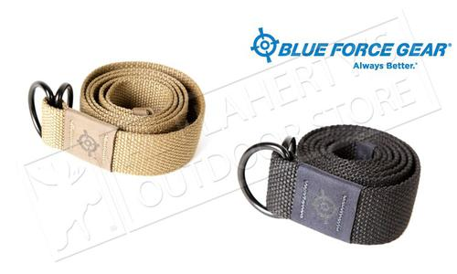 "BLUE FORCE GEAR BFG WEBB BELT - LARGE 45"", BLACK OR COYOTE BROWN?>"