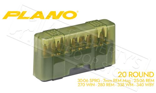 Plano Shell Case 20-Count Rifle Ammo - 30-06, 7mm RM, 338 WM, 270 WIN #123020?>