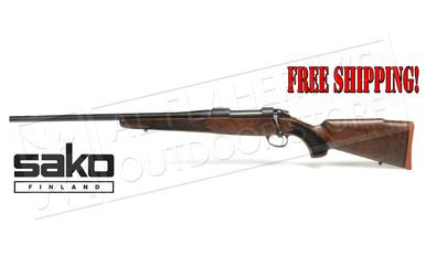 Sako 85 Hunter Rifle Left-Handed Wood/Blued, Various Calibers #JRS1A1?>
