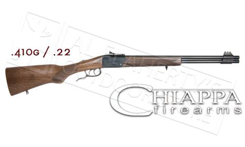 Chiappa Firearms Double Badger Folding Over Under Rimfire Rifle Shotgun Combo #500?>