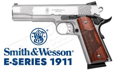 Smith & Wesson SW1911 E-Series, Stainless, .45ACP #108482?>