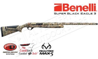 "Benelli Super Black Eagle 3 Shotgun, 12 Gauge, 3.5"" Chamber, Max5 #10301?>"
