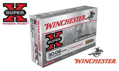 Winchester 30-06 Springfield Super X, Power Point 165 Grain Box of 20 #X30065?>