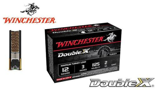 "Winchester Double X Magnum Turkey Shells 12 Gauge 3"", 2 oz. #4, 5, 6 Shot, 1125 FPS, Box of 10 #X123MXCT?>"