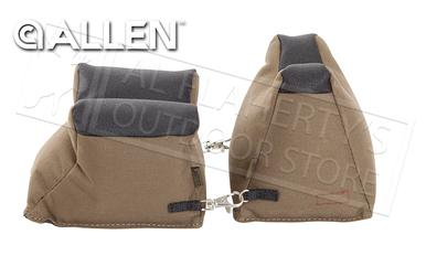 Allen Filled Front and Rear Shooter's Rest #1830?>