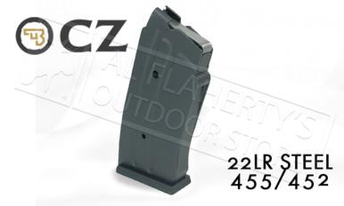 CZ 455 or 452 Magazine, .22LR 10-Round Steel #5133-1200-01ND?>