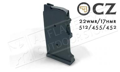 CZ 455 or 512 Magazine, .22WM or .17HMR, 10-Round Polymer #5073-1200-8802nd?>