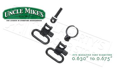 "Uncle Mike's QD Super Swivel Kit with Full Band for Magazine Tubes .630""-.675"" Diameter #13912?>"