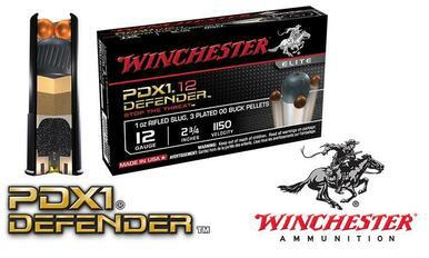 "Winchester PDX1 Defender Shells 12 Gauge 2-3/4"", Box of 10 #S12PDX1?>"
