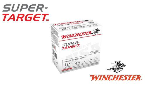 "(Store Pick up Only) Winchester Super-Target 12 Gauge #7-1/2, 2-3/4"", 1-1/8 oz. 3 Dram, Case of 250 #TRGT12M7 - Case?>"