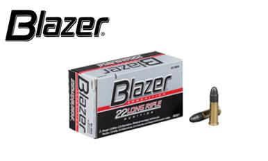 CCI Blazer 22LR Target Ammunition, 40 Grain, High Velocity, Pack of 50 or 500 Rounds for $42.90 #0021?>