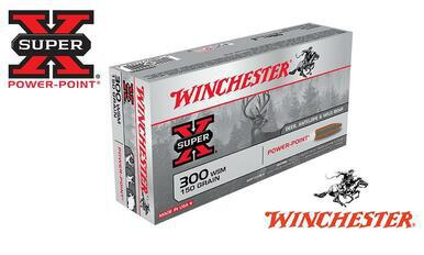 Winchester 300 WSM Super X, Power Point 150 Grain Box of 20 #X300WSM1?>