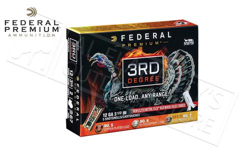 "Federal 3rd Degree Turkey Shells 12 Gauge 3.5"" 1-3/4 oz. Load Mixed 5/6/7 Shot #PTDX139567?>"