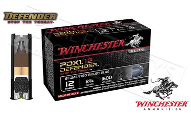 "Winchester PDX1 Defender Shells 12 Gauge 2-3/4"" Segmented Slugs, Box of 10 #S12PDX1S?>"