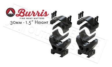 "Burris XTR Signature Rings, 30mm 1.5"" Height Customizable Cant #420223?>"
