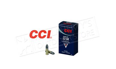 CCI Quiet 22LR Rimfire LRN, 40 Grain 710 fps, Box of 50 #0960?>