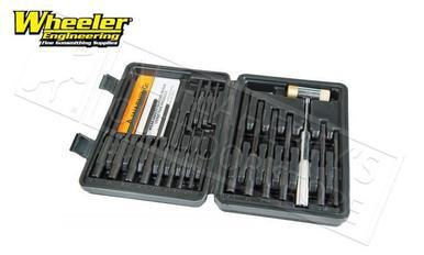 Wheeler Master Roll Pin Punch Set #110128?>