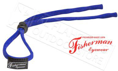 Fisherman Eyewear Soft Retaining Cord for Glasses, Blue #90963?>