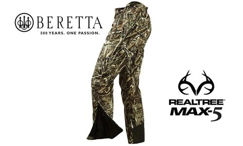 Beretta Pants Waterfowler in MAX5 Camouflage, M-2XL #CU241022950858?>