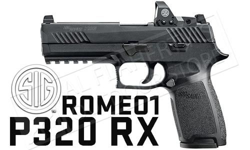 SIG Sauer Handgun P320 RX Full-Size 9mm with ROMEO1 Optic #320F-9-BSS-RX?>