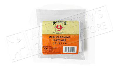 Hoppe's Cleaning Patches .35 to .45 Caliber, Bulk 500 Pack #1204s?>
