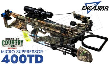 Excalibur Micro Suppressor 400 Takedown Crossbow MOBUC with Tact 100 Scope #E74170?>