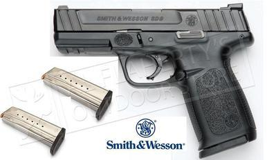 Smith & Wesson SD9  Semi Auto Pistol 9MM, 4.25 #12002?>