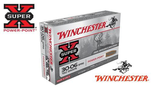 Winchester 30-06 Springfield Super X, Power Point 150 Grain Box of 20 #X30061?>