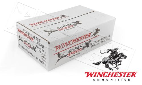 "(Store Pick up Only) Winchester Super Speed Game Loads 20 Gauge 2-3/4"" 8 Shot 7/8 oz. Case of 250 #WHS208?>"