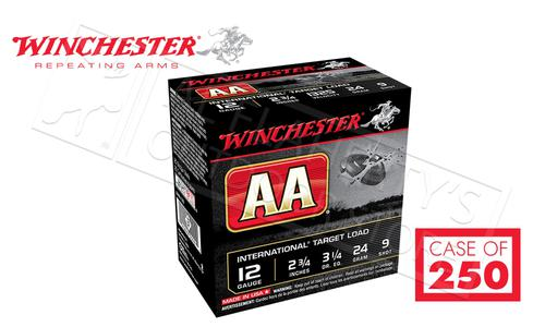 "(Store Pick Up Only) Winchester AA International Target Load 12 Gauge #8, 2-3/4"" Case of 250 Shells #AANL129CASE?>"