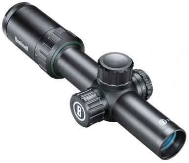 Bushnell Prime 1-4x24 Prime Black Rifle Scope with German 4A Illuminated Reticle #RP1424BS9?>