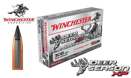 Winchester .308 WIN Deer Season XP, Polymer Tipped 150 Grain Box of 20 #X308DS?>