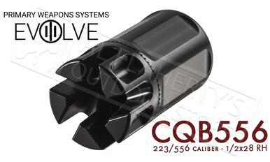 PWS CQB Compensator for 5.56/223 1/2x28 Threading #CQB556?>
