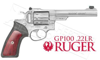 Ruger GP100 Double Action 22LR Revolver #1757?>
