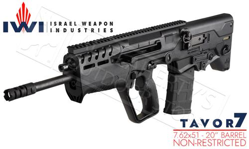 "IWI Tavor 7 Rifle in 7.62 NATO With 20"" Barrel #TAV308B?>"